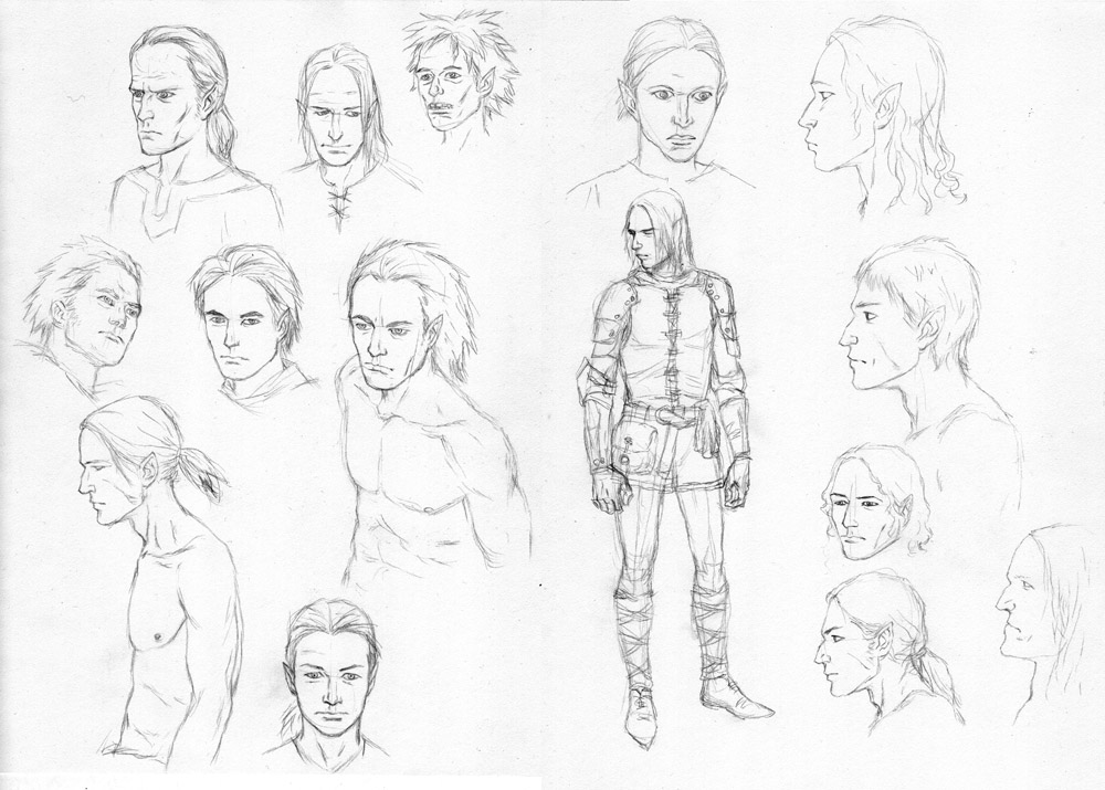 Male Elf Concepts