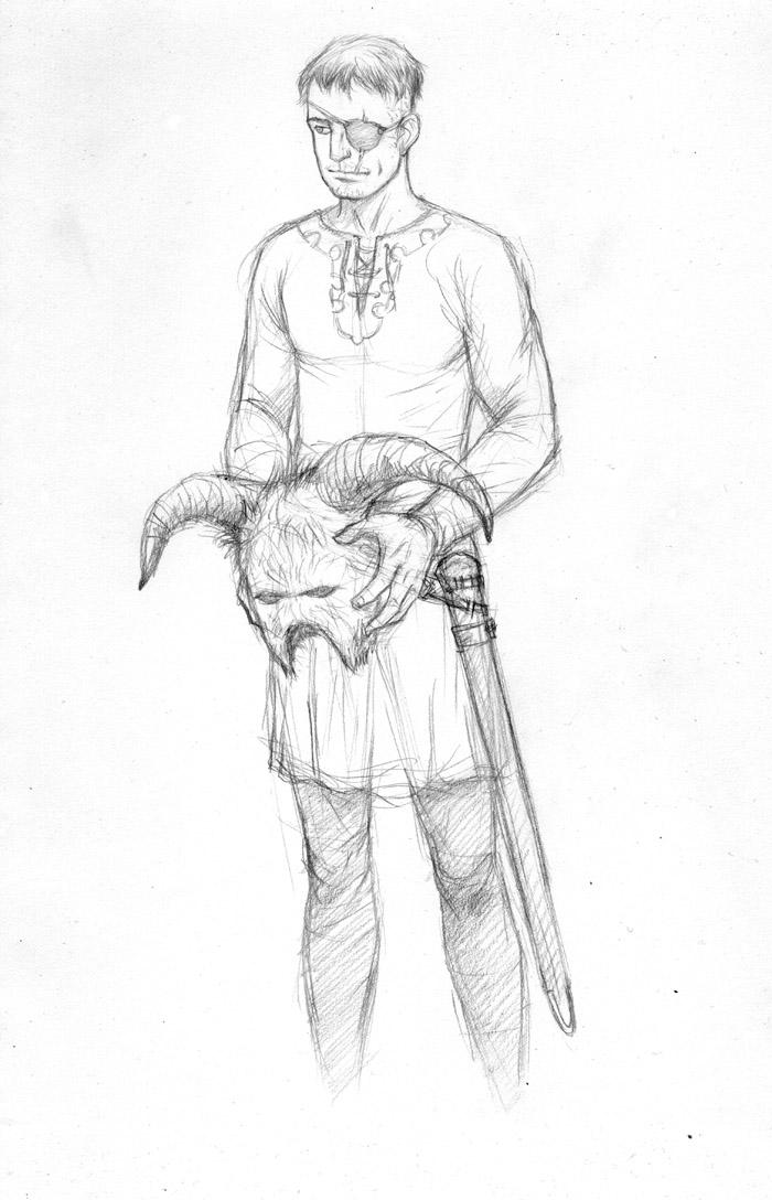 Young Durgo Sketch