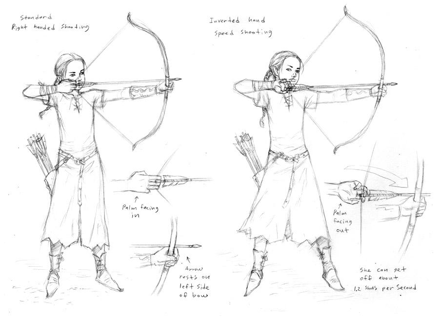 Archery Sketches