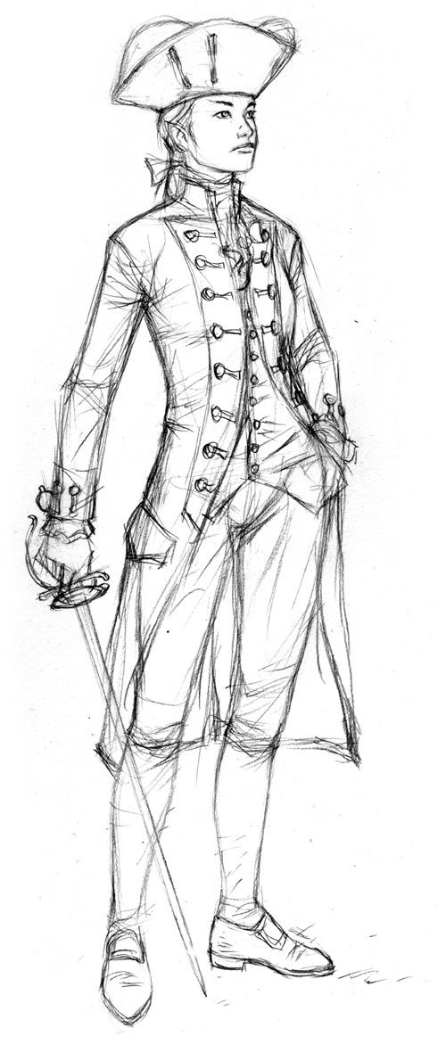 18th C. Elf Sketch