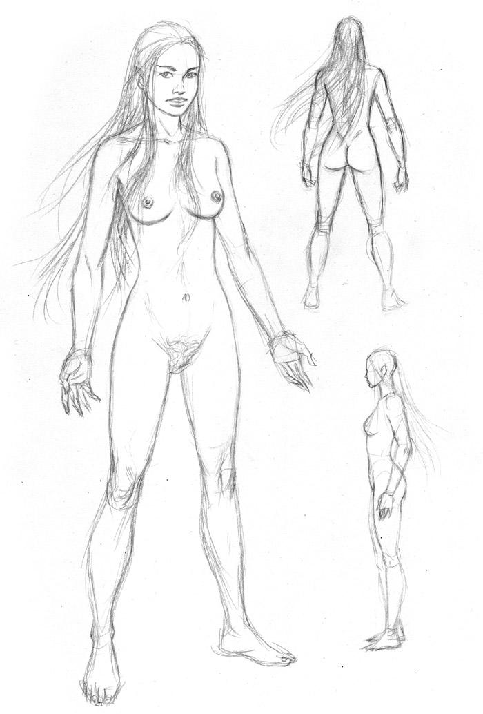 Elf Figure Study 1