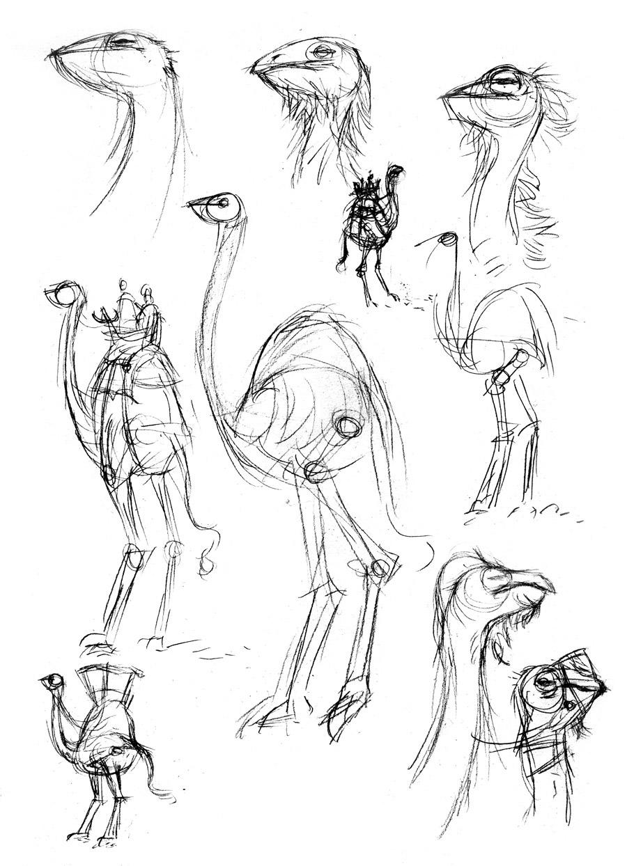 Strider Sketches